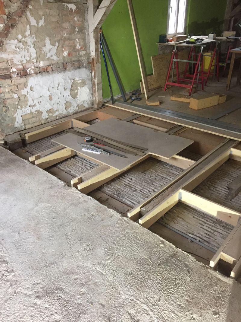 Dalle béton et plancher bois au même niveau - 9 messages