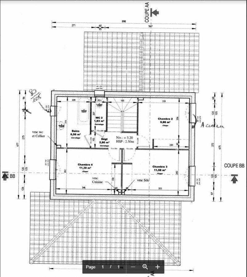 Plans maison 120 m2 R+1 exposée Sud - 91 messages