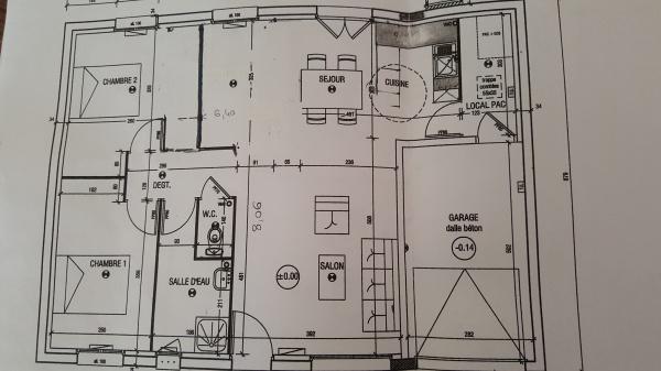 Maison Le Masson T5 Bis Plain Pied Garage Integre Bolbec