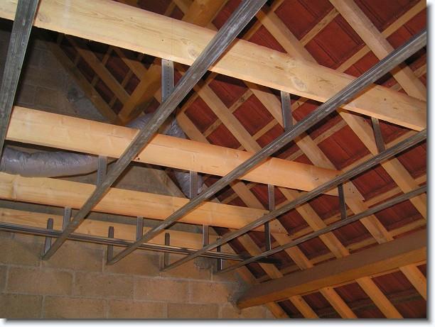 La maison d 39 aur lie et j r me enfin des nouvelles for Faire faux plafond garage