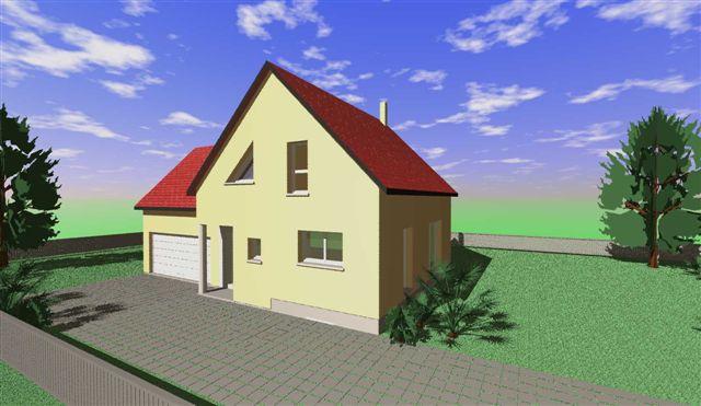 Notre maison terrasse spots dalles pos es ste croix en plaine haut rhin - Garage sainte croix en plaine ...