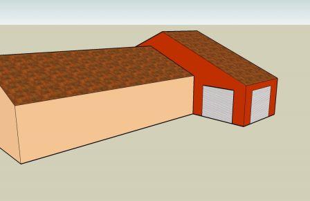 projet extension de 45m sur un plain pied puy de dome. Black Bedroom Furniture Sets. Home Design Ideas