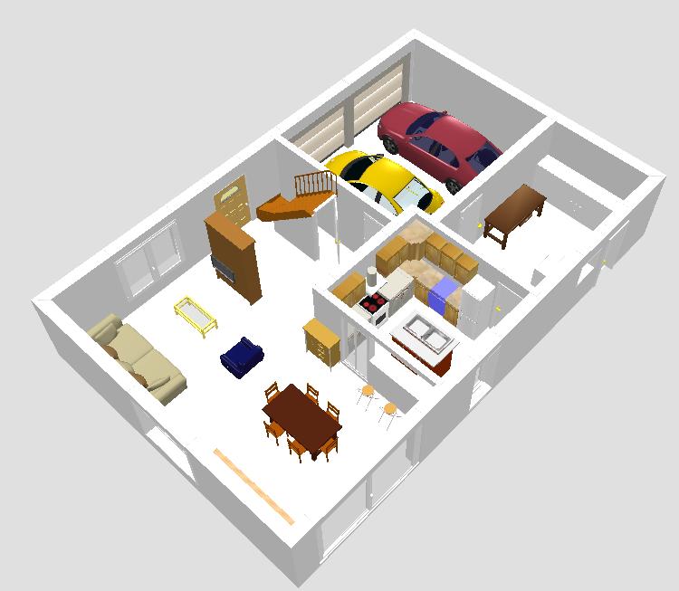 maisons claude rizzon segu maison. Black Bedroom Furniture Sets. Home Design Ideas