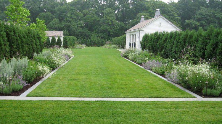 En quoi r aliser une bordures de pelouse horizontale ras for Bordurette de jardin
