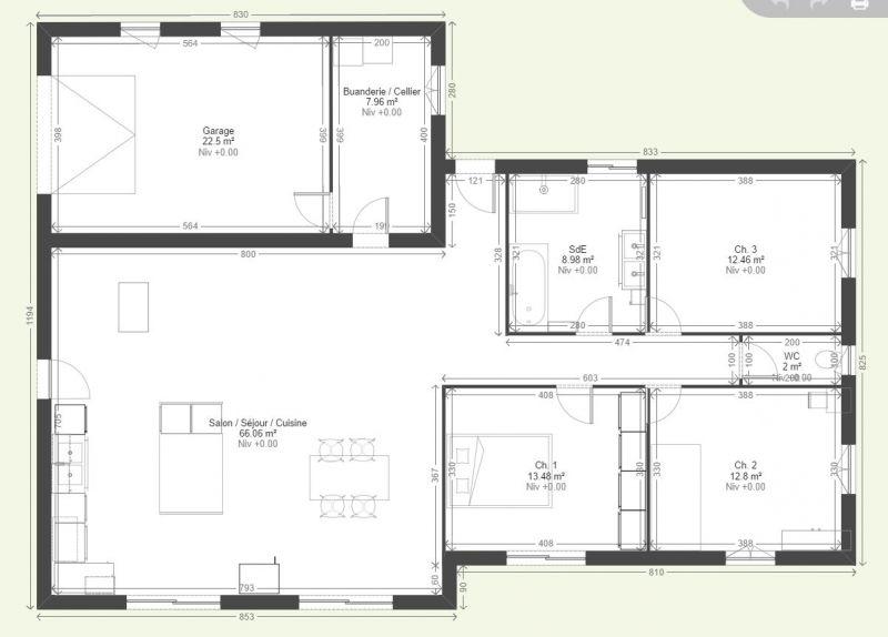 Avis Plan De Maison Plain Pied De - 150 M² - 13 Messages