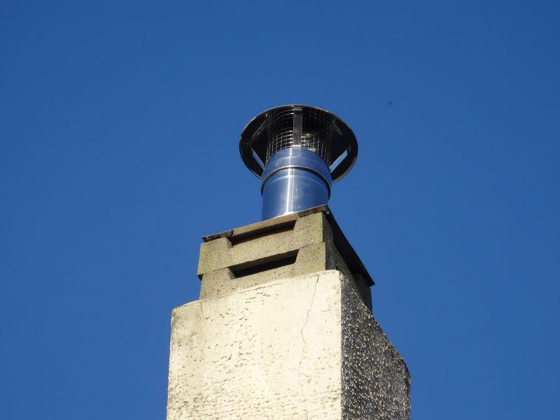 Ventilation D Un Vieux Conduit De Cheminé Tubé Résolu 5