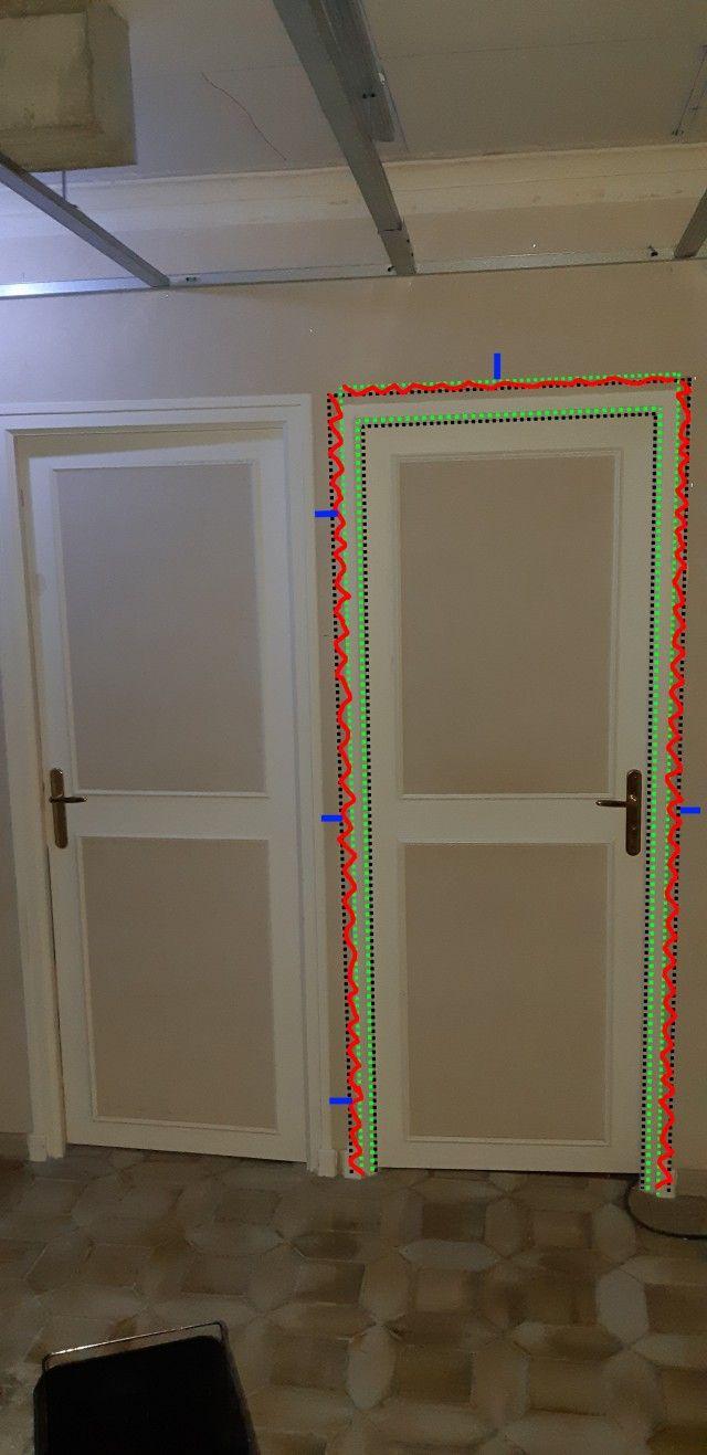 Remplacer Une Porte Par Du Placo remplacement d'un bloc porte sur mur en brique [résolu]