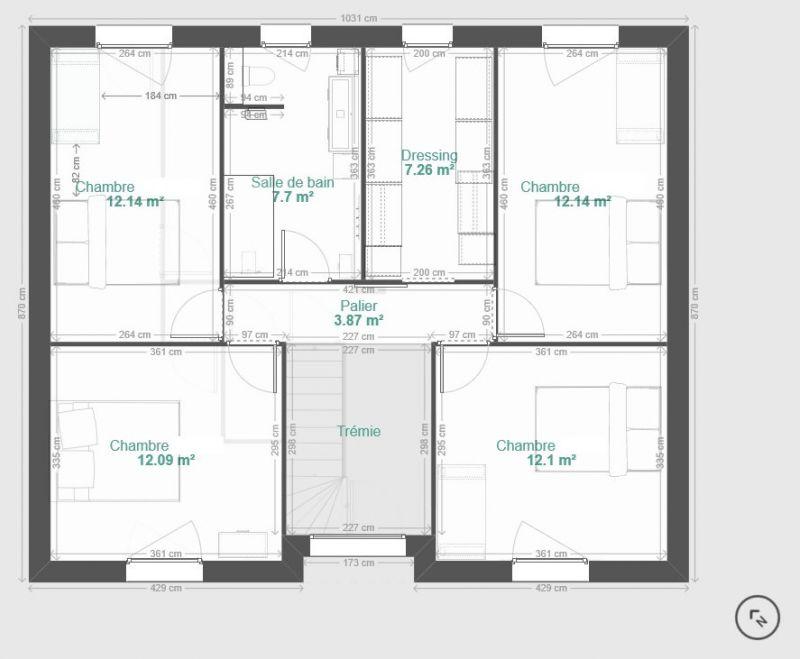 Plan De Maison R 1 140m Sur Sous Sol Et Orientation 42 Messages