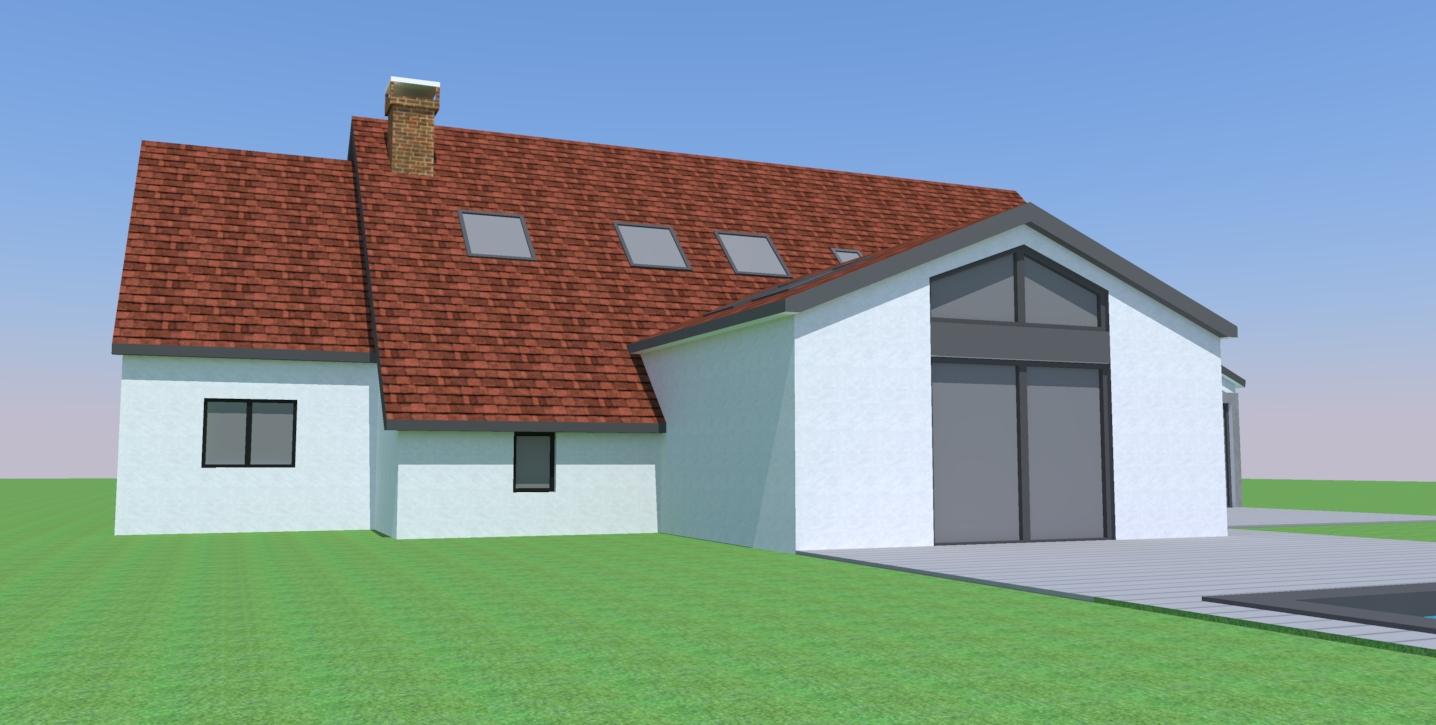 Agrandissement de notre maison la campagne la chapelle for Agrandissement maison loiret