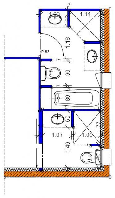 Amnagement Salle De Bain M Good Dcoration De Maison Decoration - Plan salle de bains 6m2