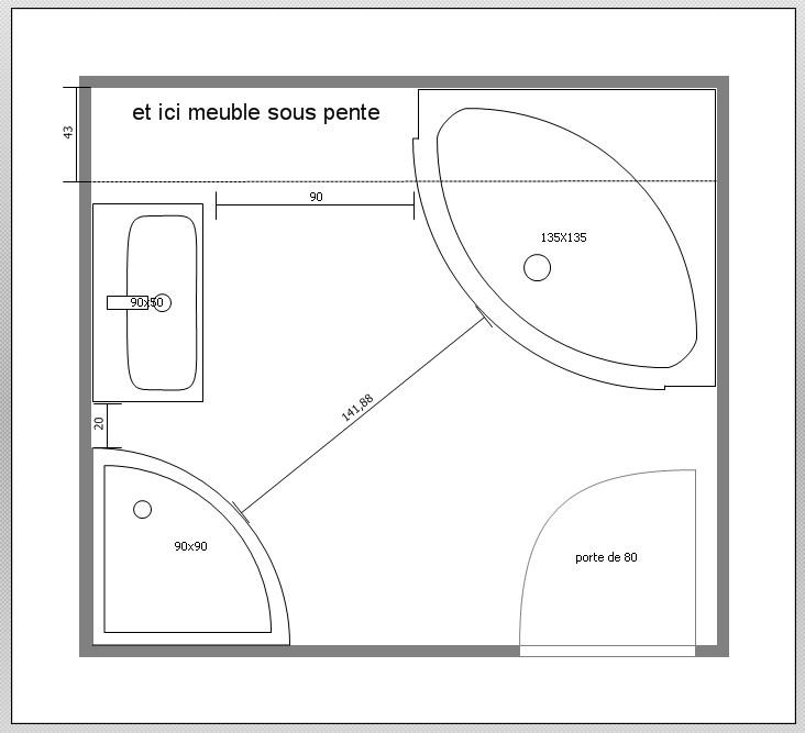 Meuble Salle De Bain Sous Pente. Meubles Vasques Salle De Bain ...