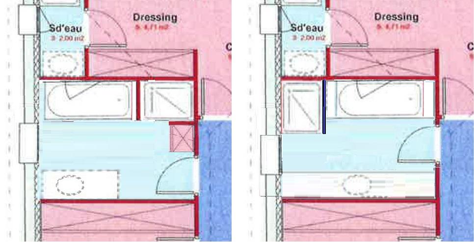trendy juai une prfrence pour le dessin de droite with dessiner une salle de bain. Black Bedroom Furniture Sets. Home Design Ideas
