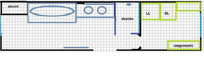 Aide pour am nager la salle de bain toute en longueur 37 - Amenager une salle de bain en longueur ...