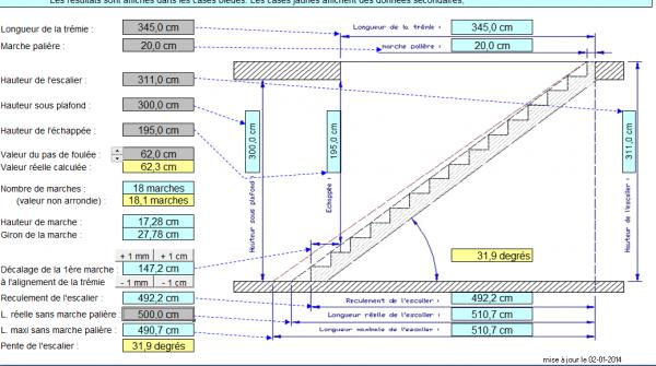 calcul tremie escalier simple tlcharger par with calcul tremie escalier best calculer les. Black Bedroom Furniture Sets. Home Design Ideas
