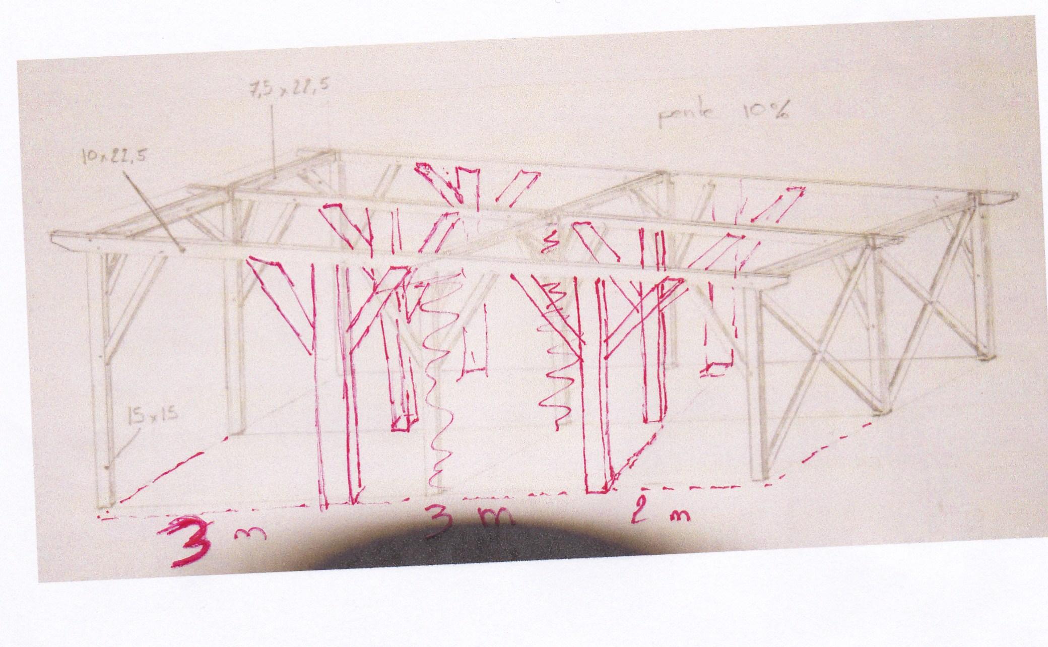 aide dimension charpente pour abri voiture 43 messages page 3. Black Bedroom Furniture Sets. Home Design Ideas