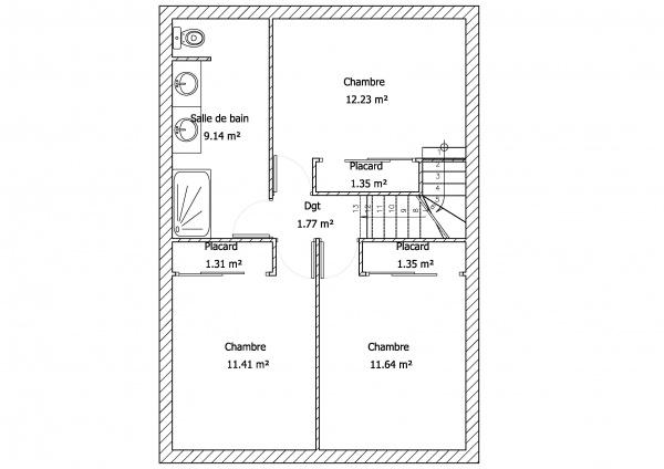 Aide pour modifier des plan maison 91m2 34 messages for Modifier plan maison