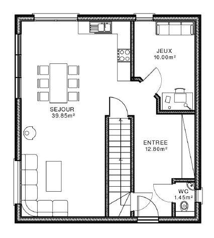 Aide orientation maison r 1 sur terrain entr e sud avis plans 23 messages - Plan maison entree sud ...