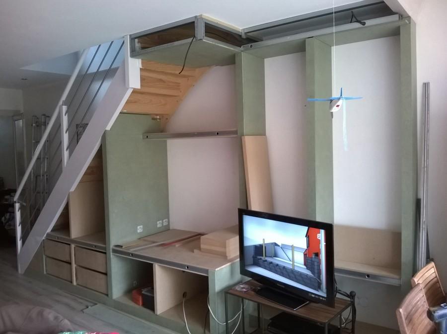 am nagement sous escalier ba13 medium fermacell 27 messages. Black Bedroom Furniture Sets. Home Design Ideas