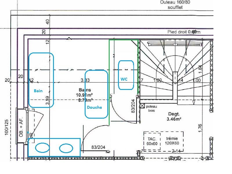 Aménagement Salle De Bain 10M² Sous Comble. - 15 Messages