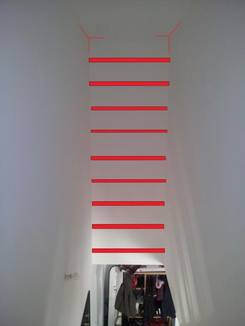 Am nager biblioth que au dessus de l 39 escalier 11 messages - Amenager une bibliotheque ...