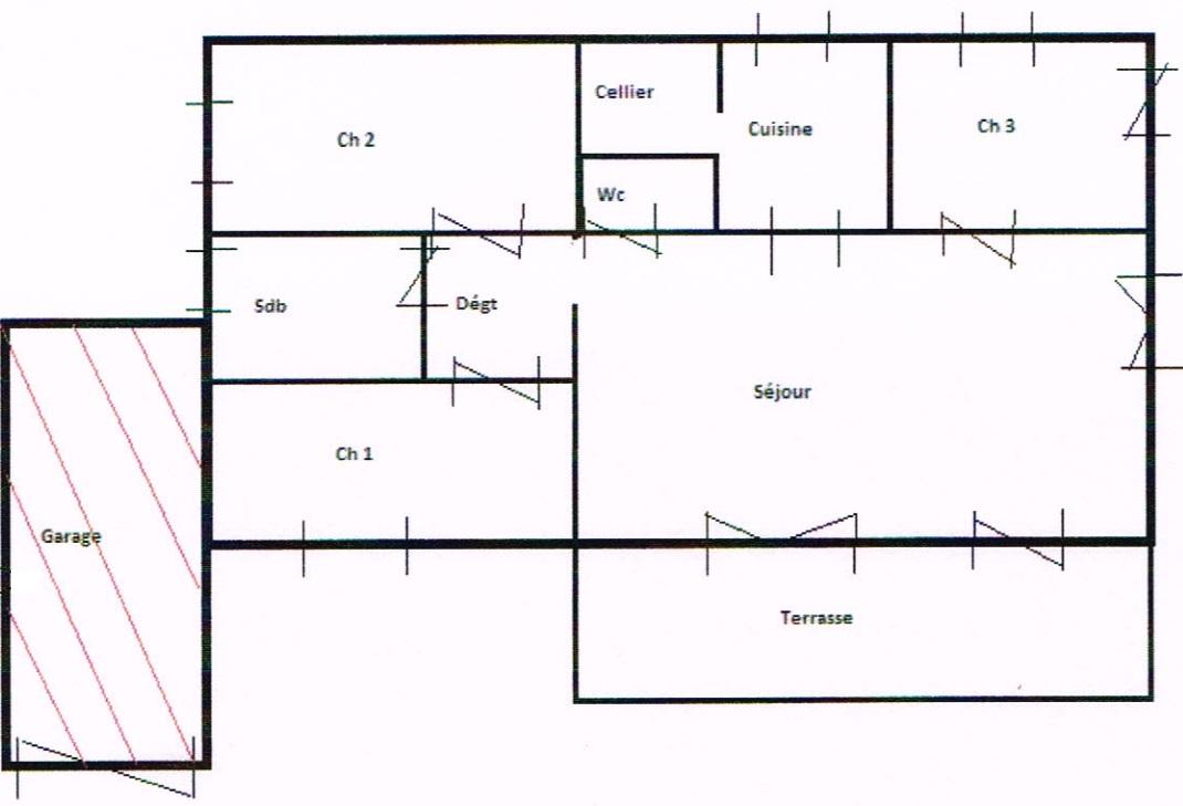 Exceptionnel croquis d une maison 10 croquis dessin Croquis d une maison