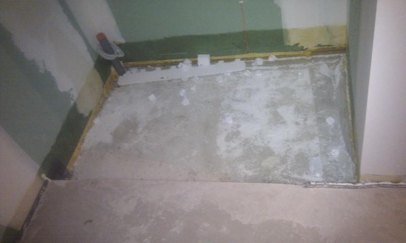 R alisation de la douche italienne carrelage douche for Forum construire salle de bain