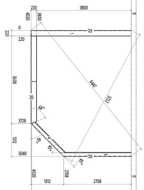 Comment assembler deux murs 45 degr s 22 messages page 2 - Comment couper un angle a 45 degres ...