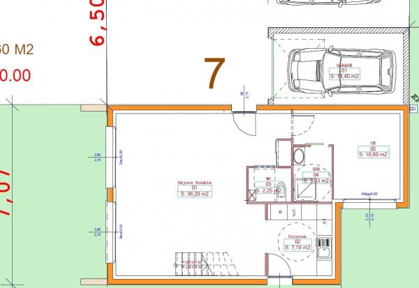 plan de maison optimisé