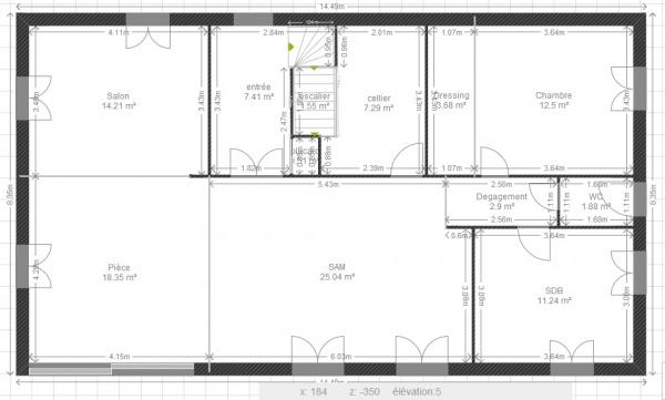 Avis cout maison en rt 2012 11 messages for Cout construction maison individuelle rt 2012