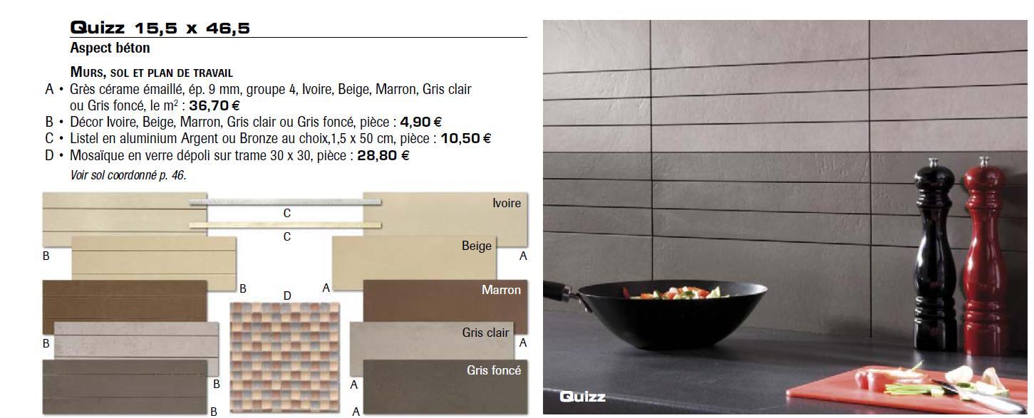 Avis cuisine cappuccino et choix des couleurs des murs 8 for Carrelage marron quelle couleur pour les murs