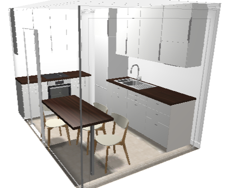 Profondeur plan de travail cuisine dimensions standard des lments de cuisine - Largeur plan de travail ikea ...