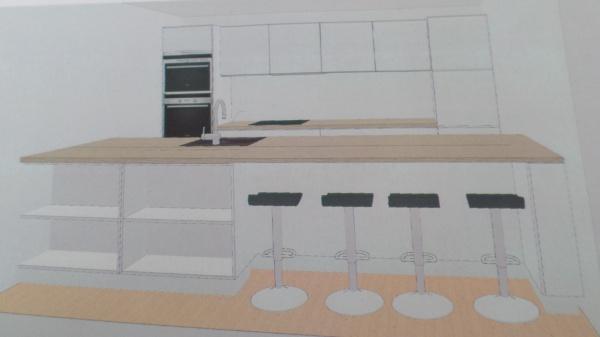 avis sur implantation cuisine bienvenus 16 messages. Black Bedroom Furniture Sets. Home Design Ideas