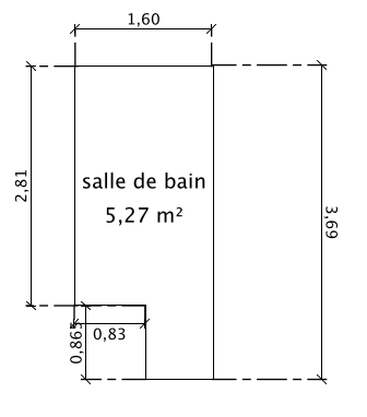 Avis implantation salle de bain 6 messages for Implantation salle de bain