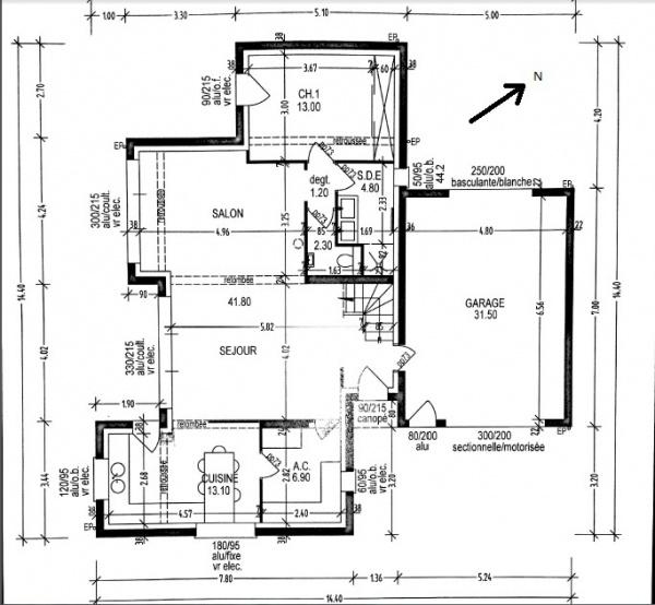 plan de maison bretagne