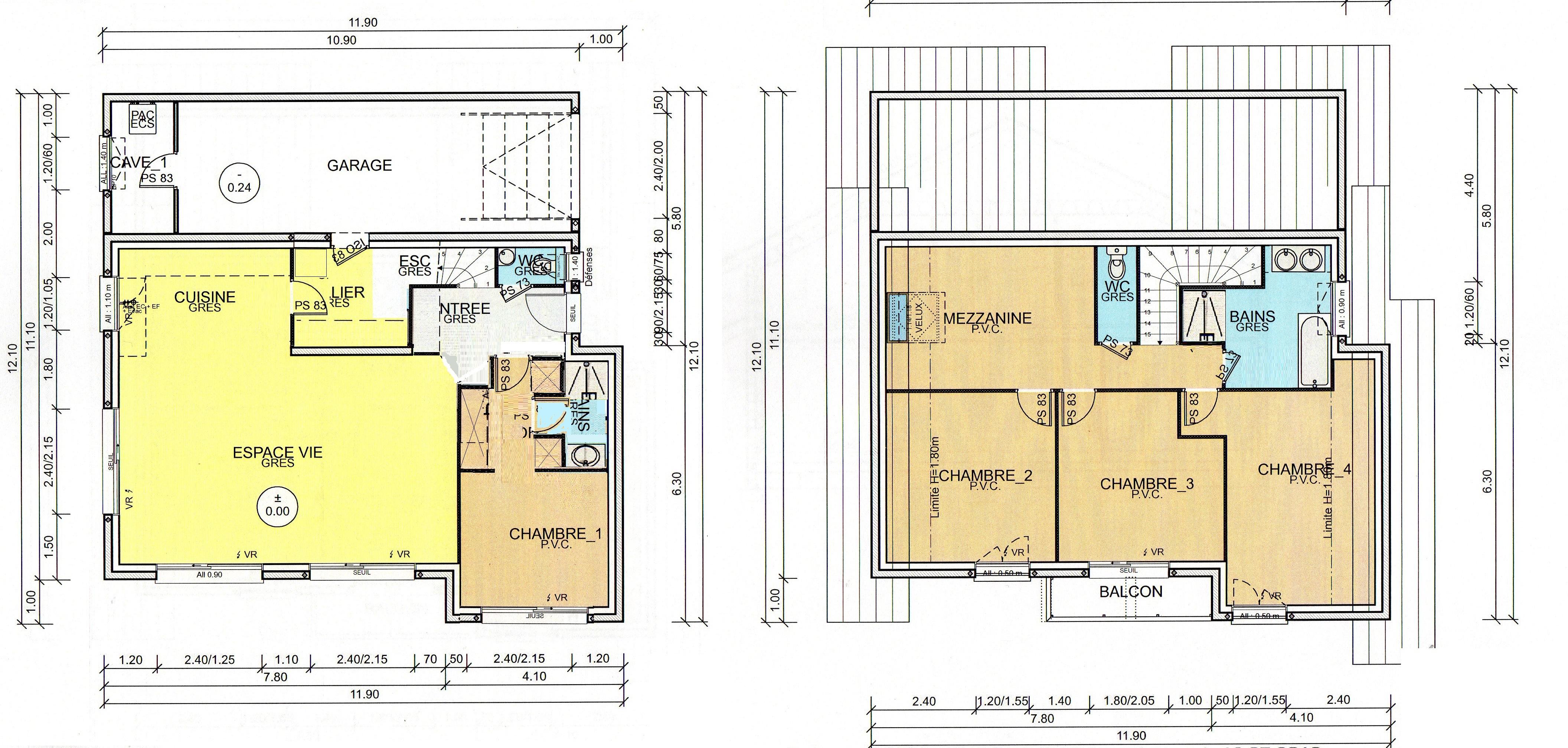 votre avis sur notre maison rez tage de 150m2 31 messages. Black Bedroom Furniture Sets. Home Design Ideas