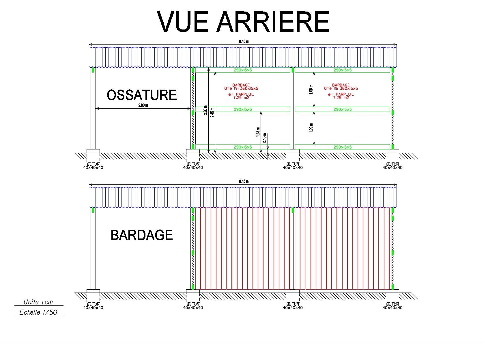 Avis ossature carport bard 8 messages - Plan de carport en bois ...