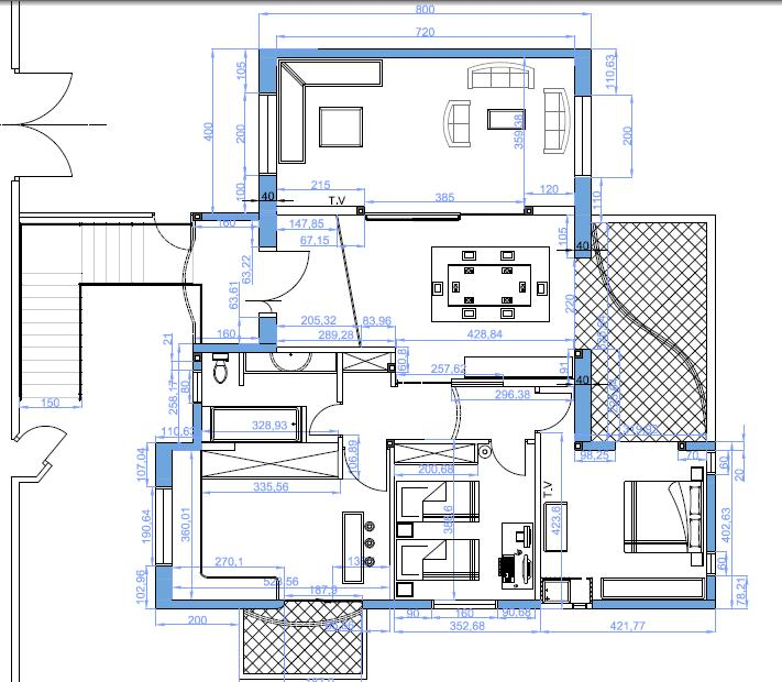 Avis sur mon plan 150m2 63 messages for Architecture tunisienne maison