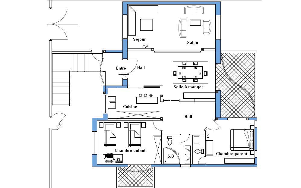 Avis sur mon plan 150m2 63 messages page 4 for Mon plan de maison parfait