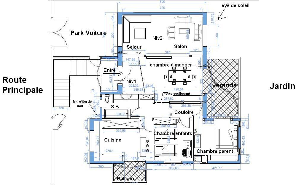 Avis sur mon plan 150m2 63 messages page 2 for Plan de maison f5