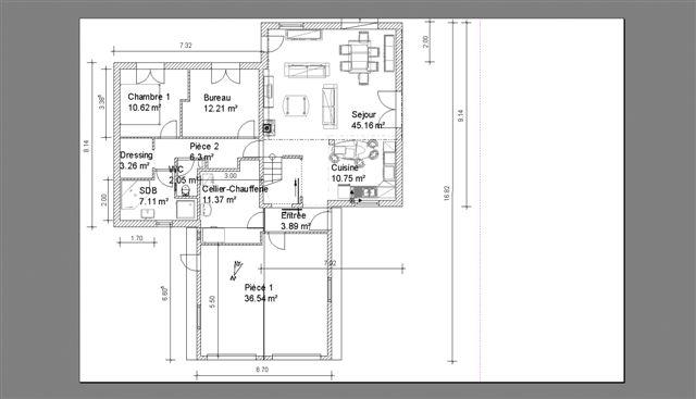 avis sur plan 160 m2 r 1 37 messages. Black Bedroom Furniture Sets. Home Design Ideas