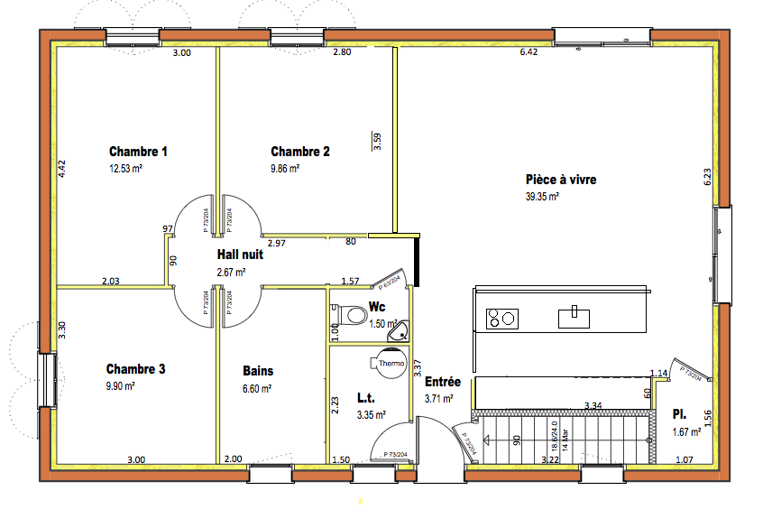 Avis plan am nagement int rieur for Plan amenagement interieur maison
