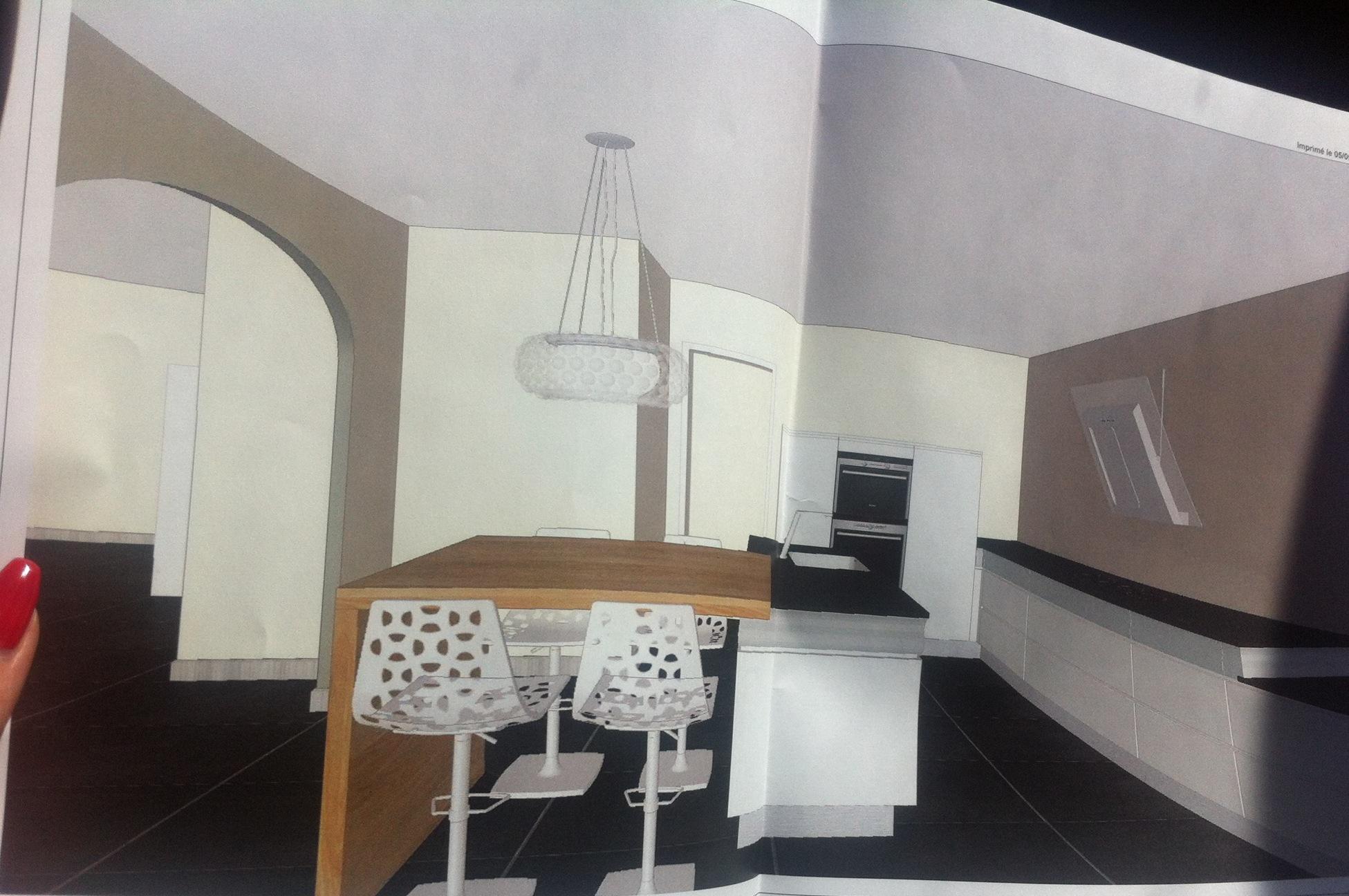 avis plan cuisine 20m2 4 messages. Black Bedroom Furniture Sets. Home Design Ideas
