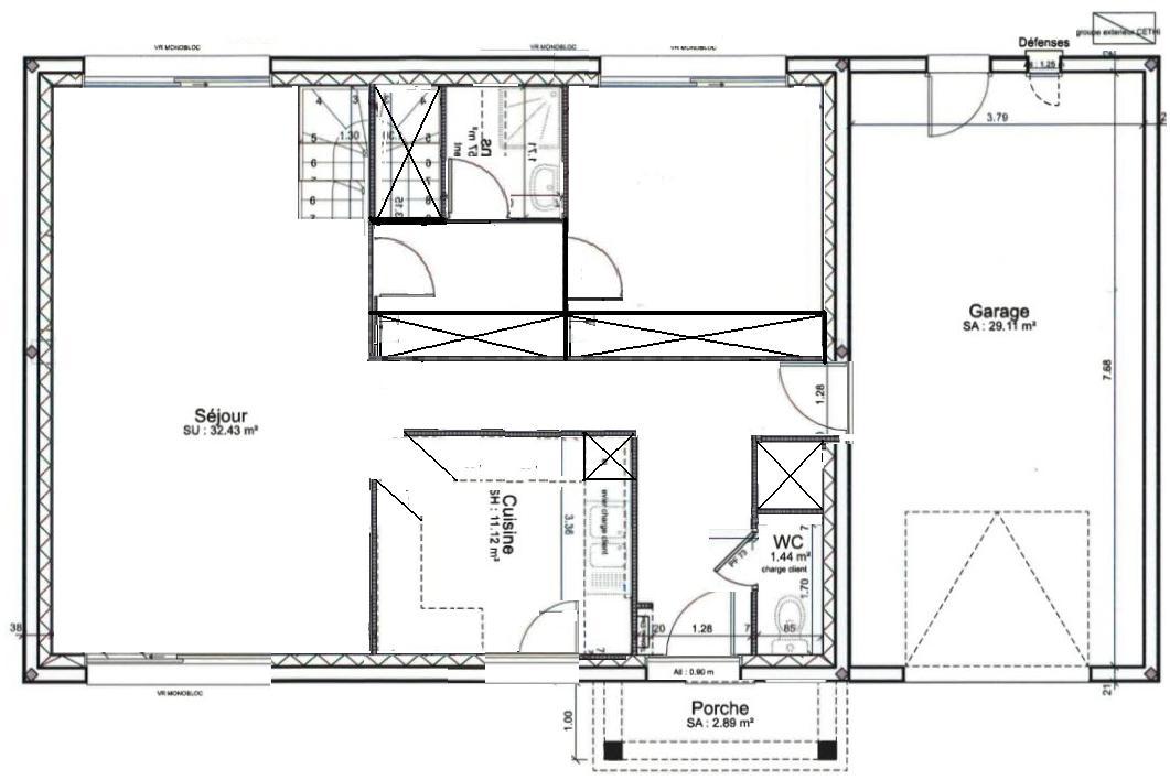 Avis Plan Pour étage Avec Chambres Dont Suite Parentale Messages - Plan etage 4 chambres
