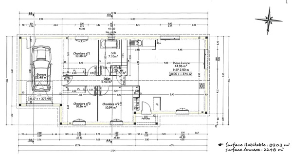Interieur maison plan for Plan interieur maison