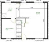 plan maison sans garage
