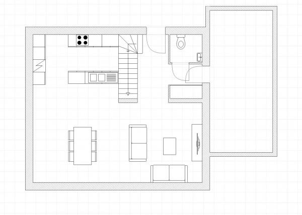 plan maison r+1 120m2