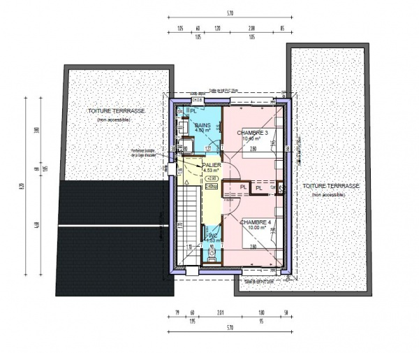 Plan maison r 1 avec sous sol for Plan maison sous sol