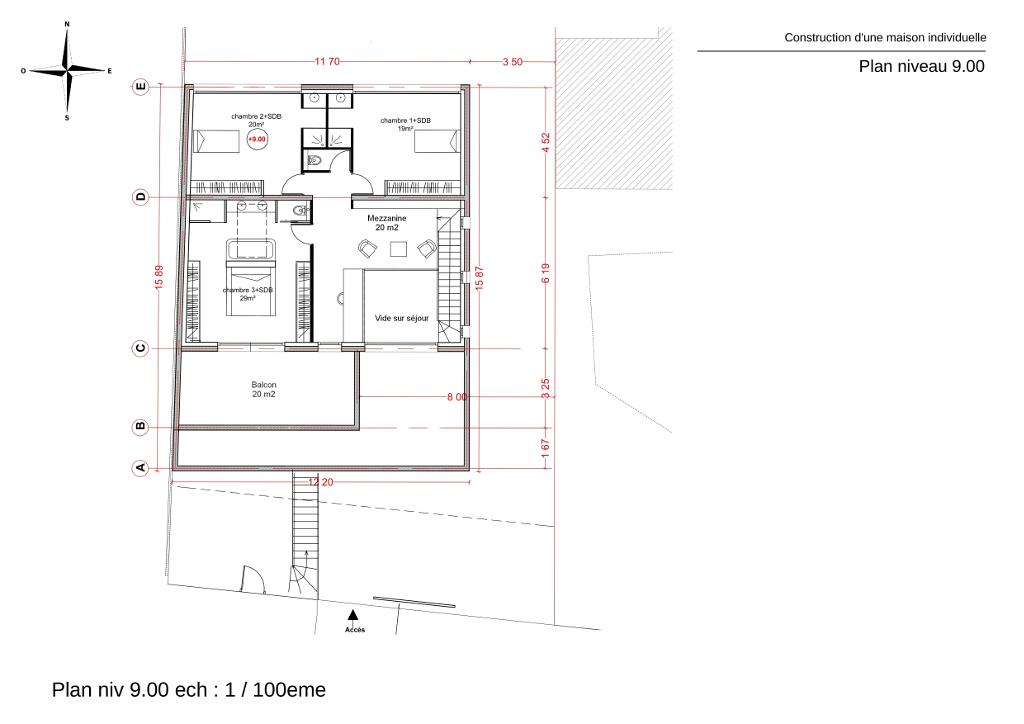 Avis sur plan d 39 une maison r 1 en toit terrasse de 213 m2 for Plan petite maison 40m2