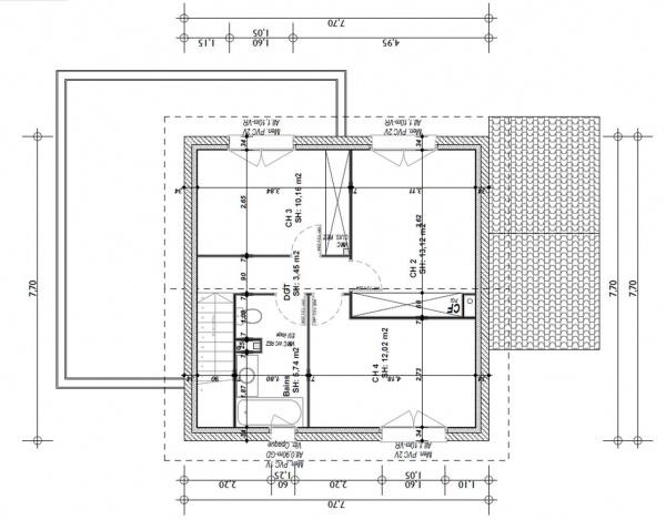 Avis plan maison 108m2 15 messages - Plan maison 130 m2 etage ...