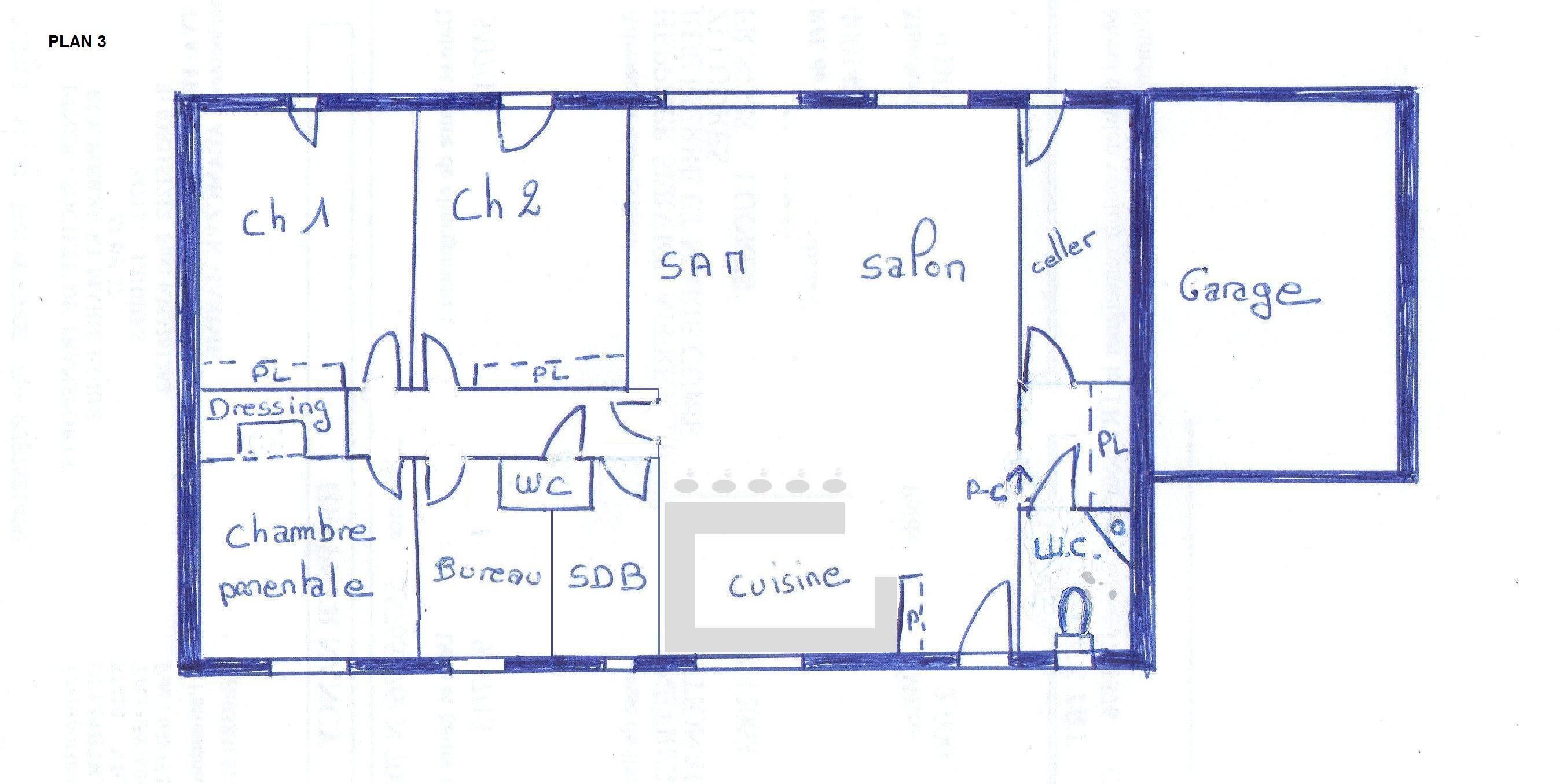 Votre avis plan maison 110m2 rdc 104 messages page 3 - Plan maison 110m2 plein pied ...